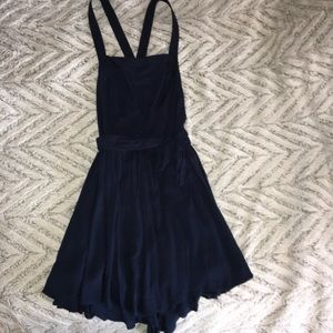 Navy blue romper/dress size 6